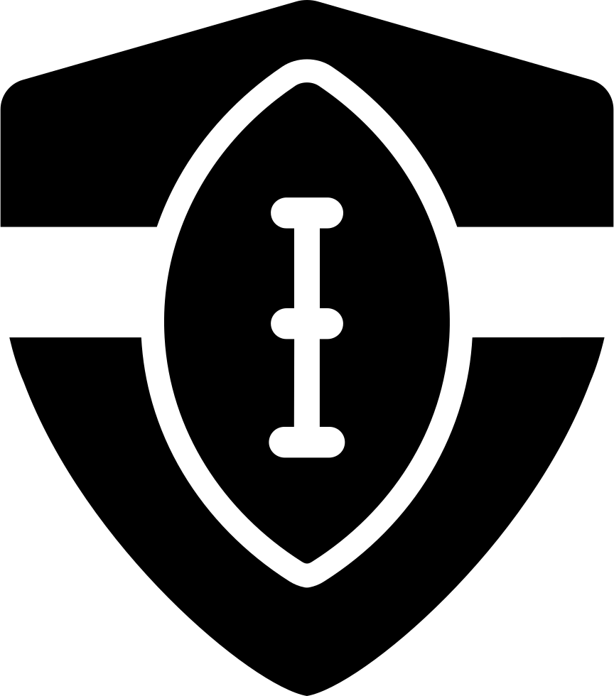 Football Shield Symbol