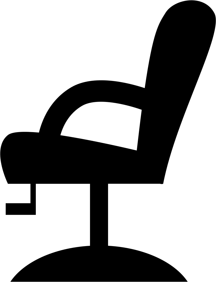 Chair Side View Silhouette