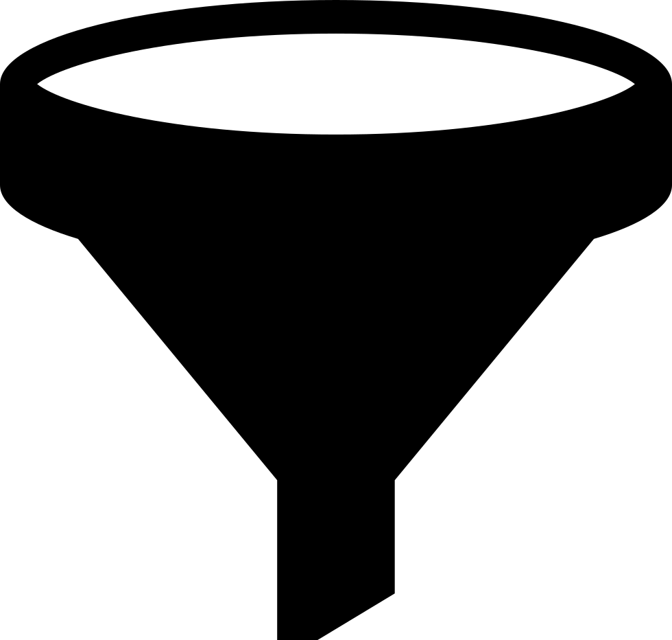 Funnel Black Shape