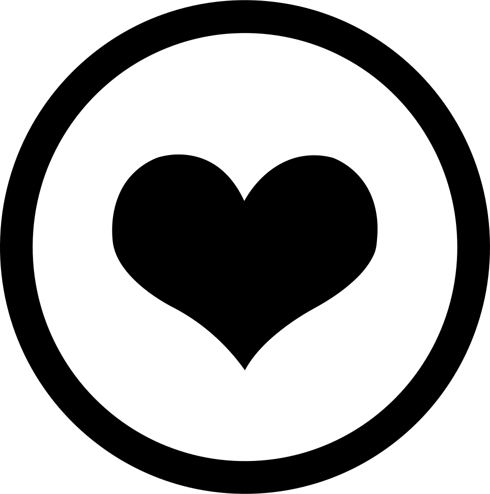 Circle Heart Svg Png Icon Free Download (#189462 ...