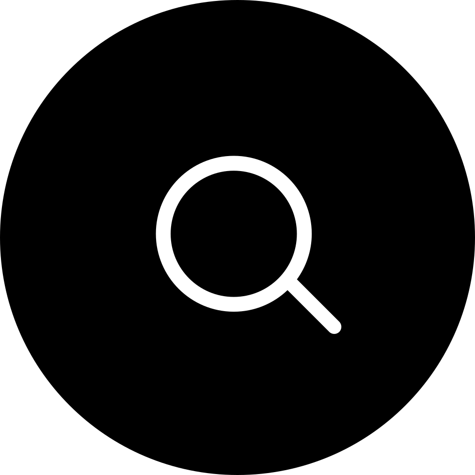 Search Symbol In Black Circular Button Svg Png Icon Free ...