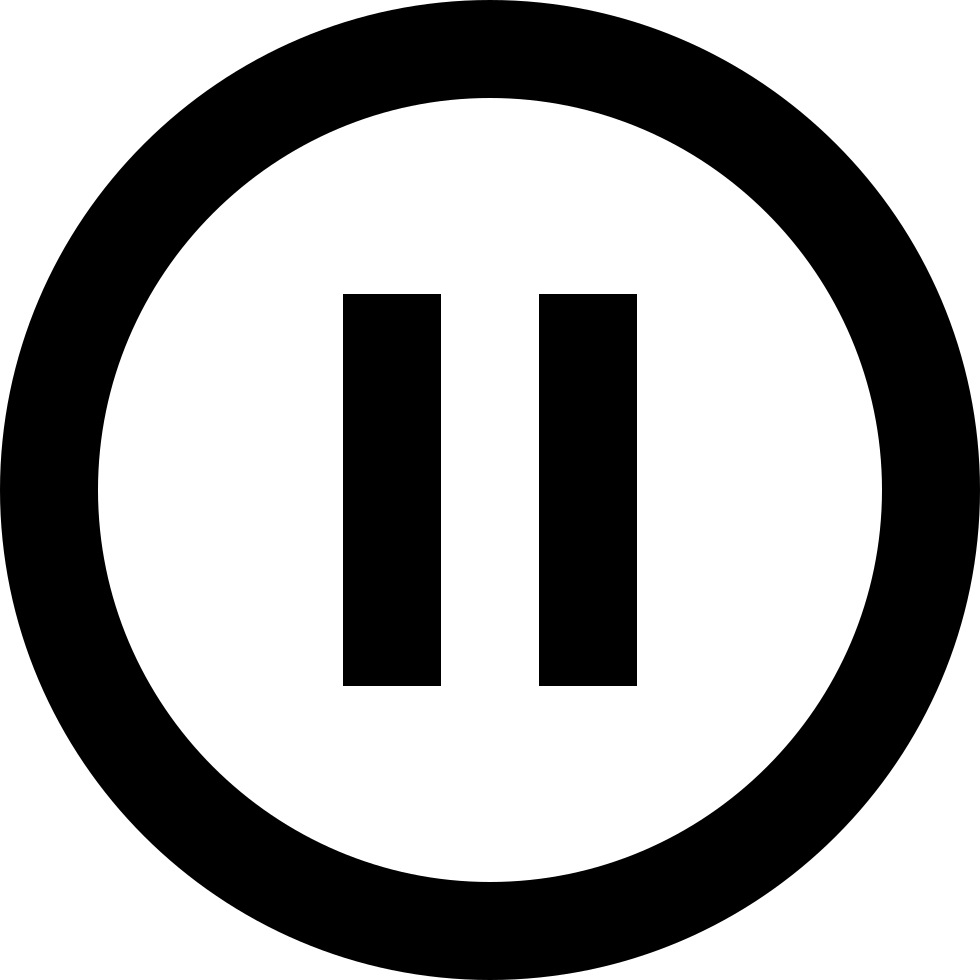 Pause Circle Outline