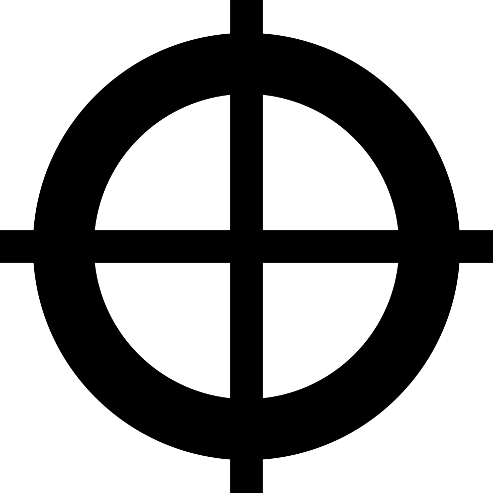 Crosshair Svg Png Icon Free Download (#209445 ...
