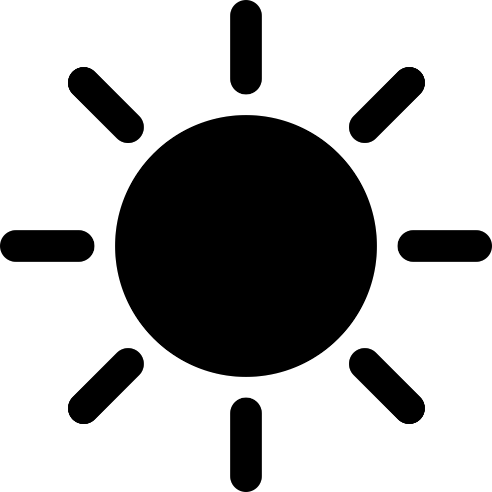 Sunny Svg Png Icon Free Download (#209726 ...