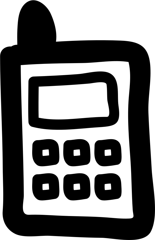 Draw Cellular Phone