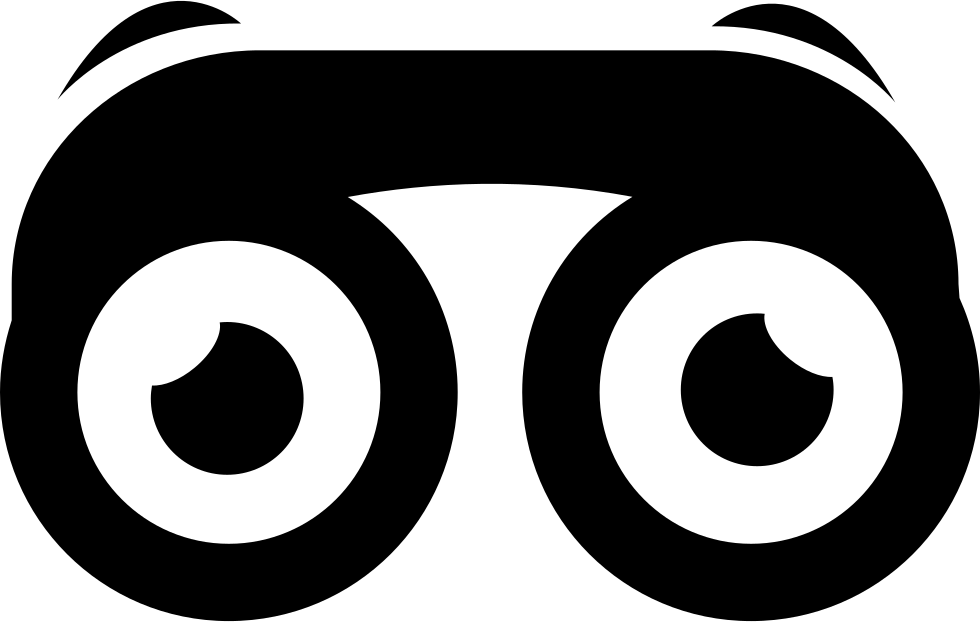 Binoculars With Eyes Svg Png Icon Free Download (#21115