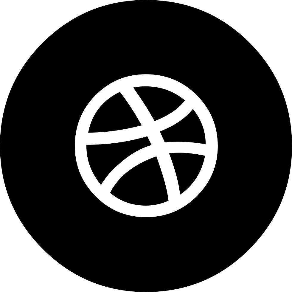 Dribbble Circled