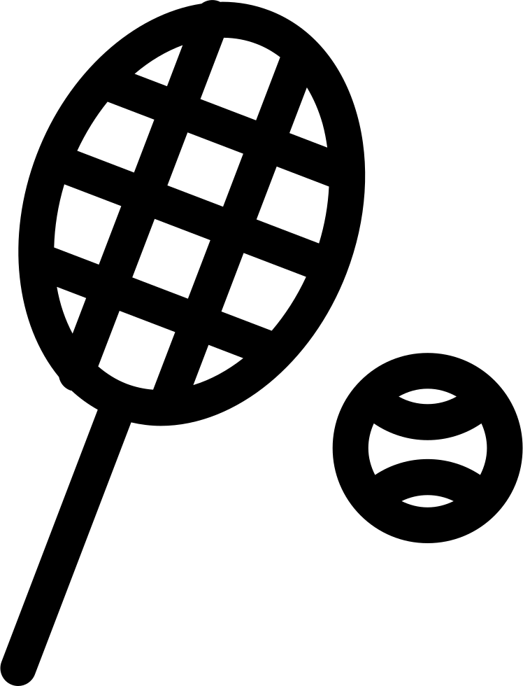 Tennis Raquet And Ball