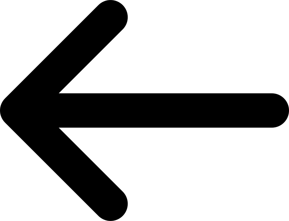 Arrow Thin Left