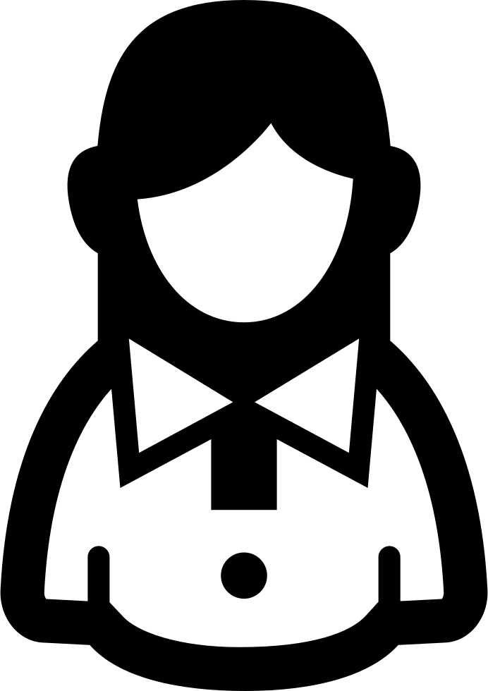 Woman Casual Symbol