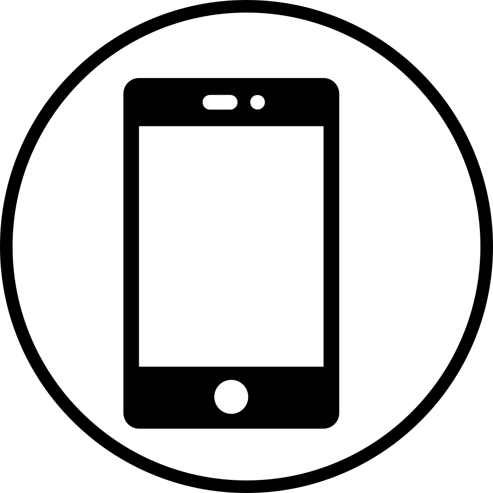 Mobile Phone Svg Png Icon Free Download (#227924 ...