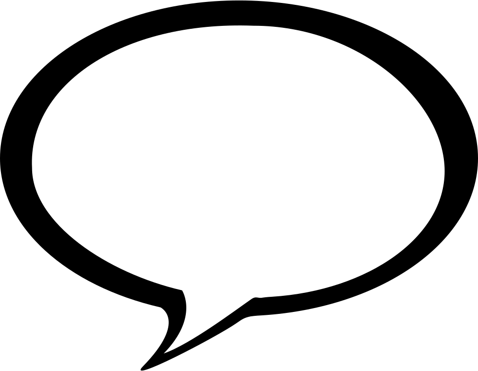 Bubble Speech Svg Png Icon Free Download (#23303 ...