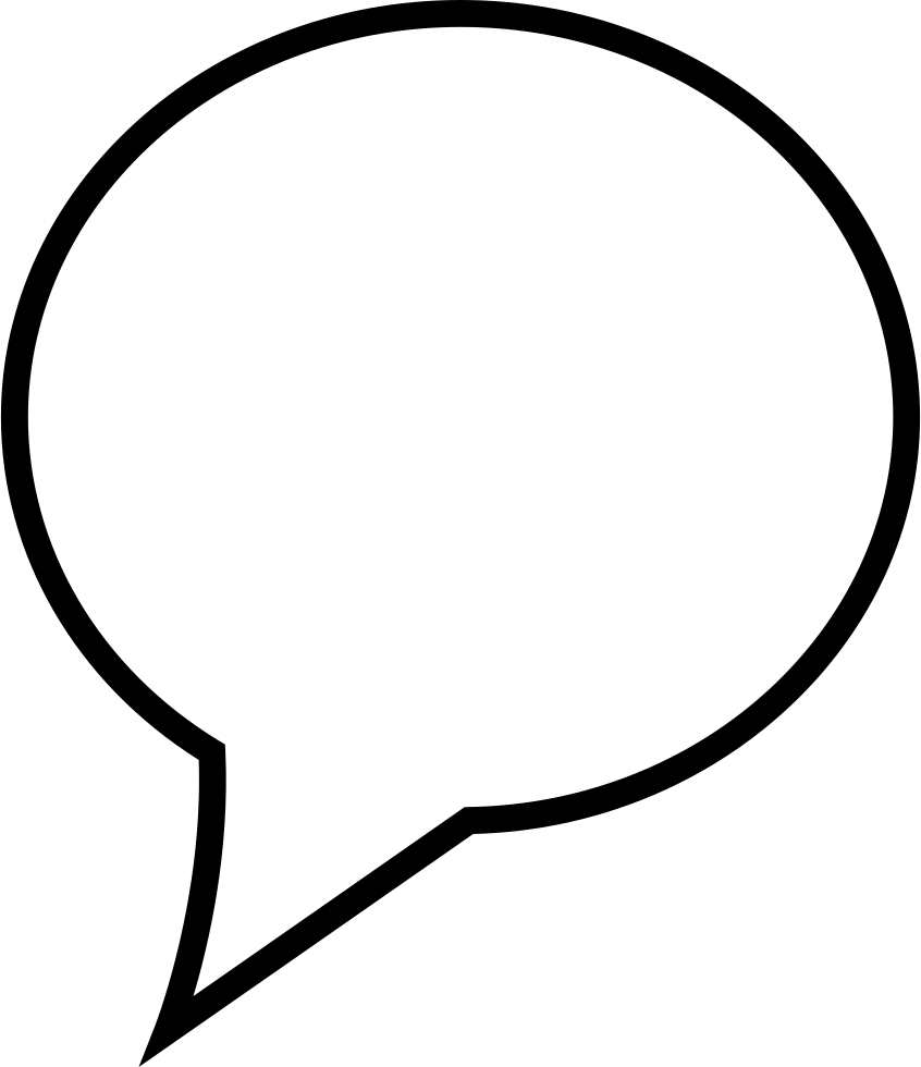 Speech Bubble Svg Png Icon Free Download (#24011 ...