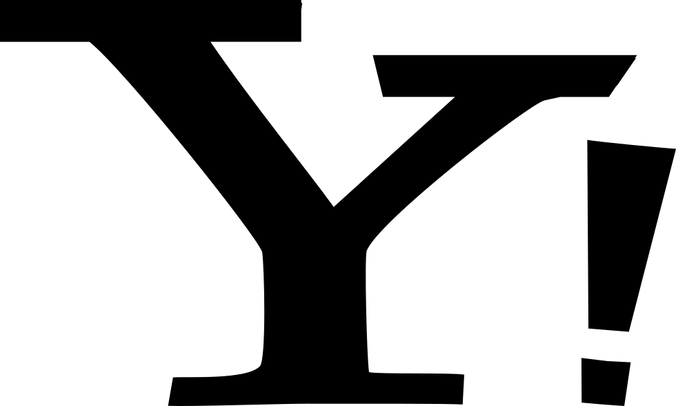 Yahoo Letter Logo With Exclamation Sign
