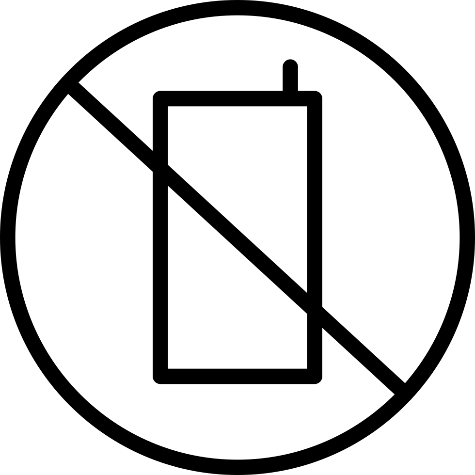 No Cellphone Use Allowed