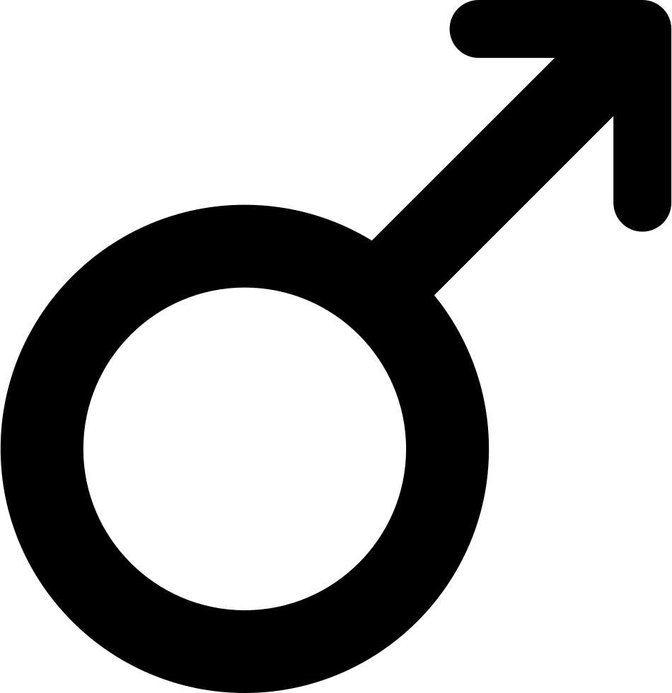 Male Gender Symbol Variant