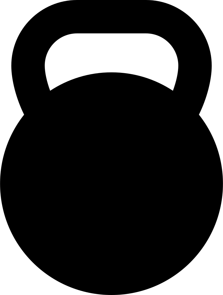 Kettlebell Svg Png Icon Free Download 265080
