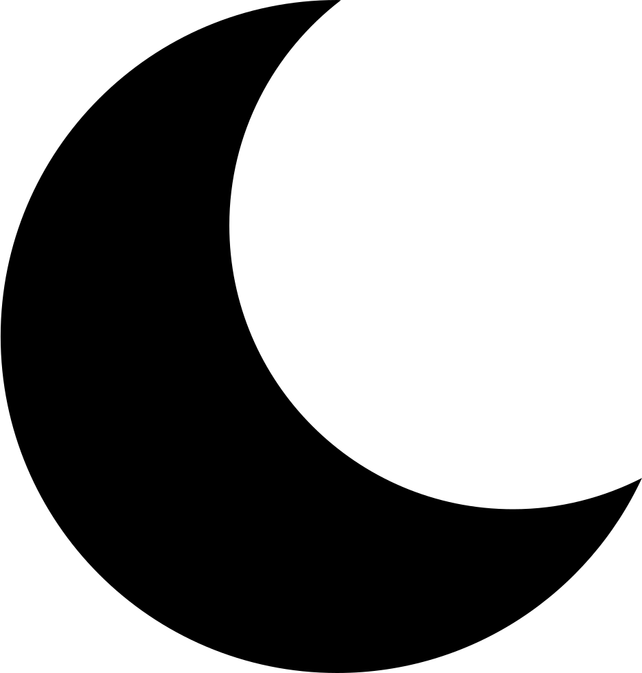 Half Crescent Moon With Face Tattoo: Moon Svg Png Icon Free Download (#272101)
