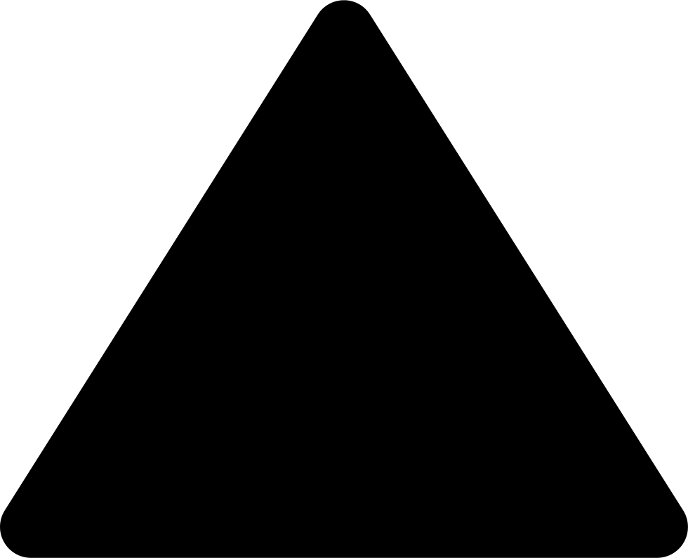 Font Triangle Top