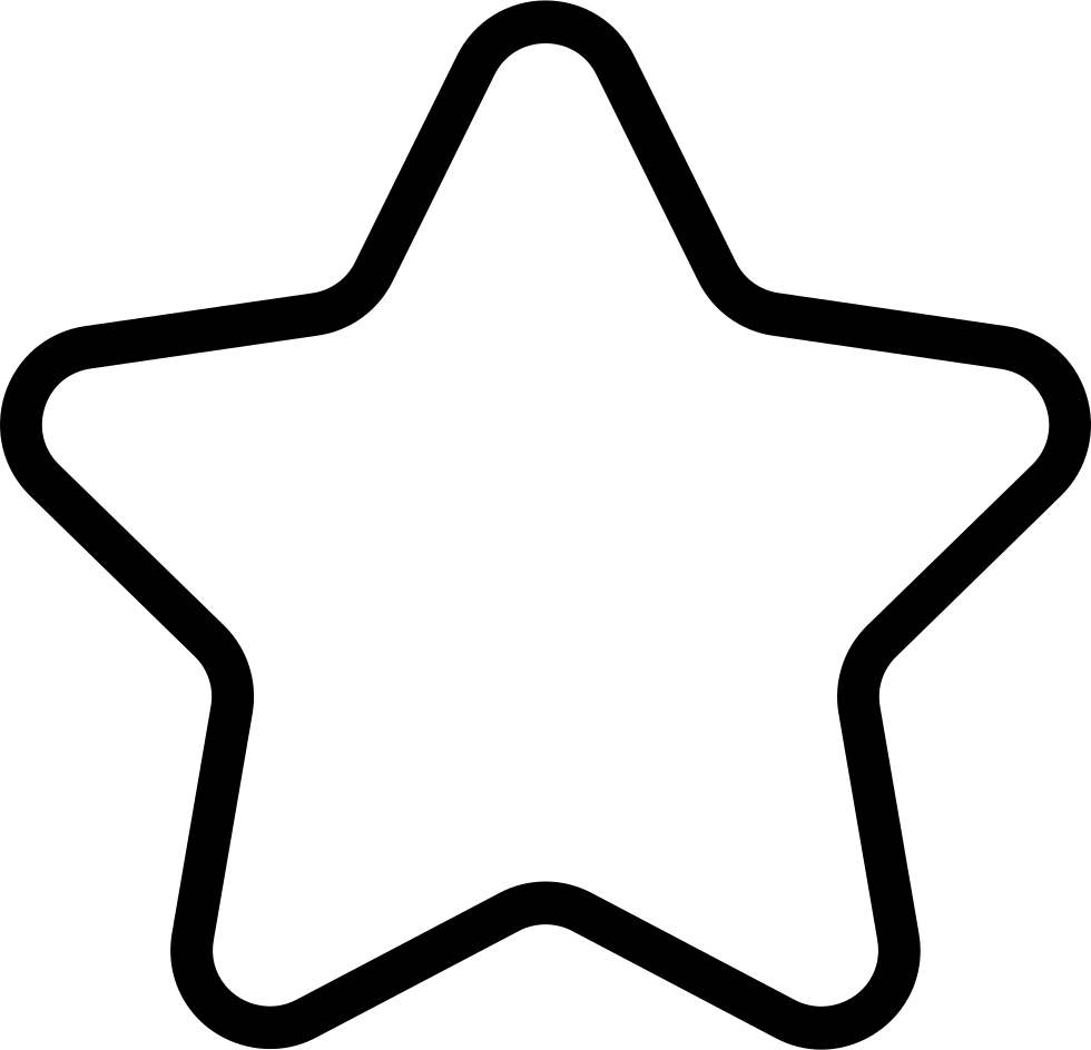 Star Outline Svg Png Icon Free Download (#277140 ...
