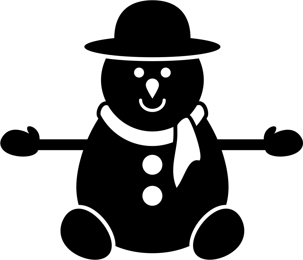 Snowman In Black Version
