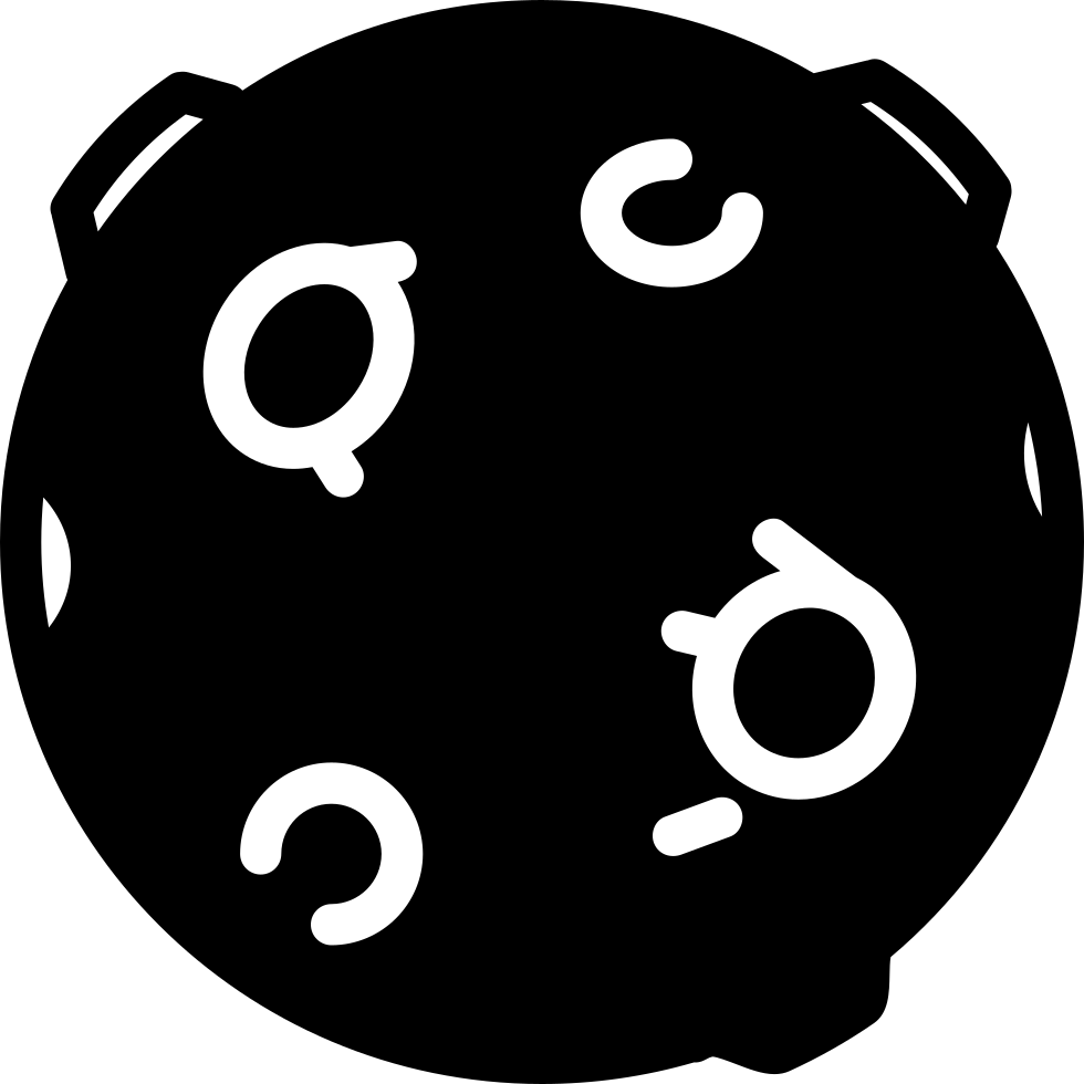 Black Ball With Circles