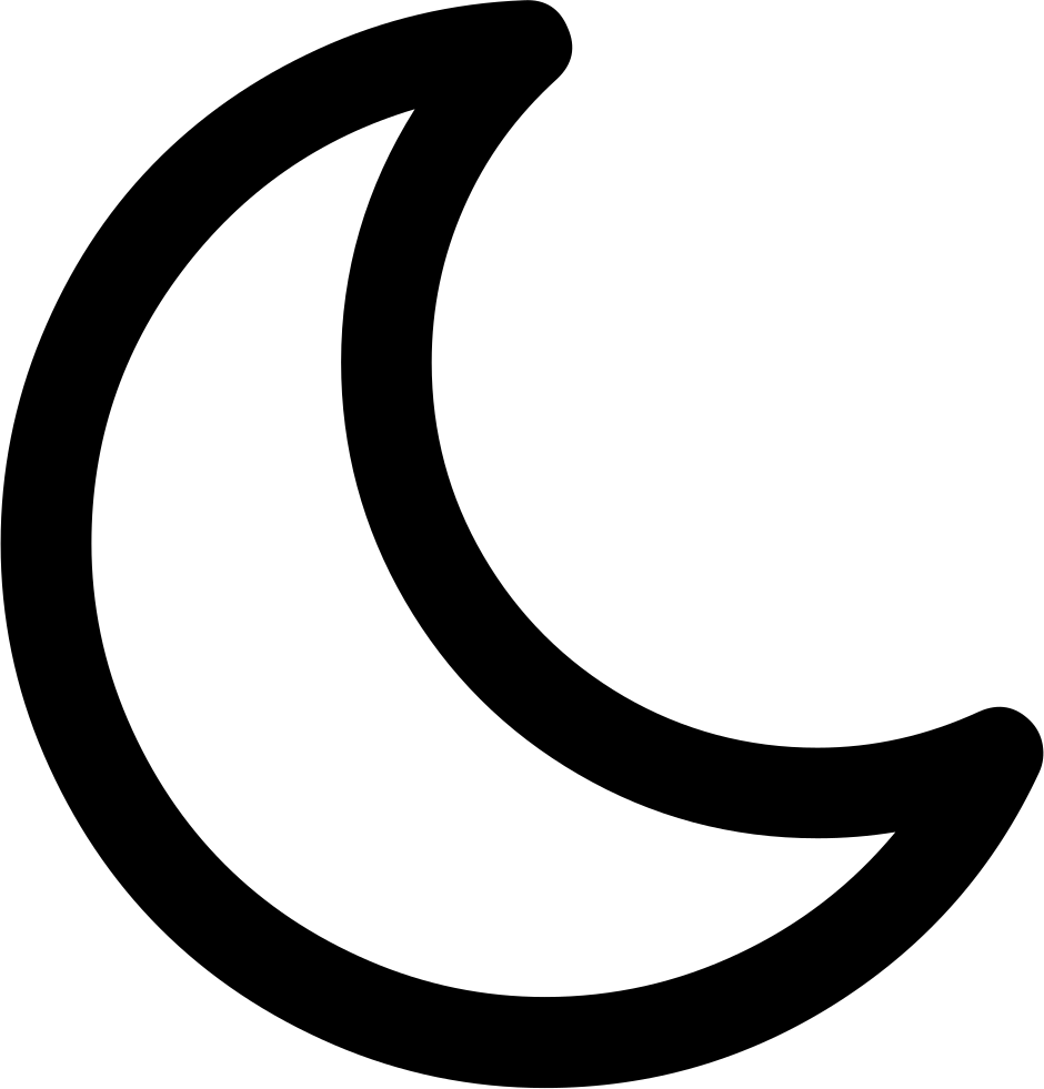 Moon Svg Png Icon Free Download 312366 Onlinewebfonts Com
