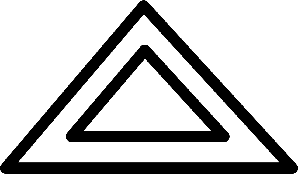 Triangular Shape Outline