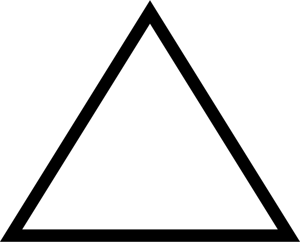 Triangle Outline Variant