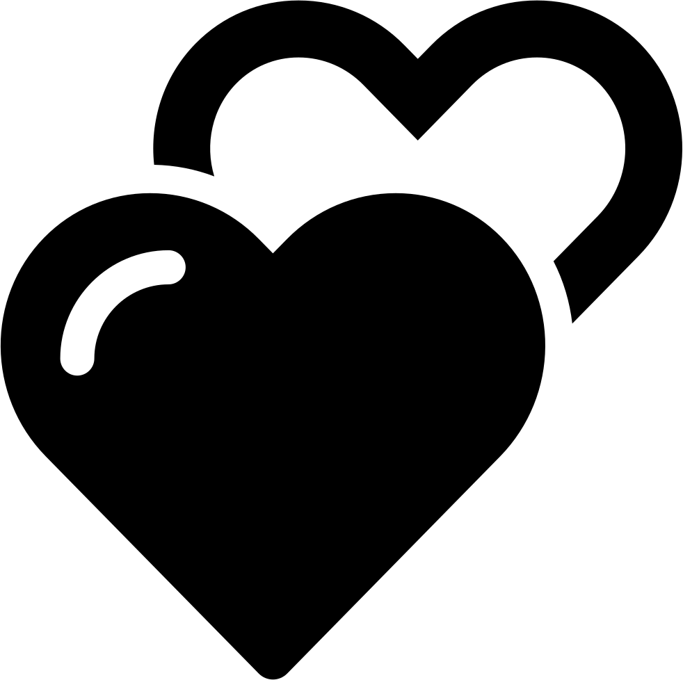 Hearts Outline Icon