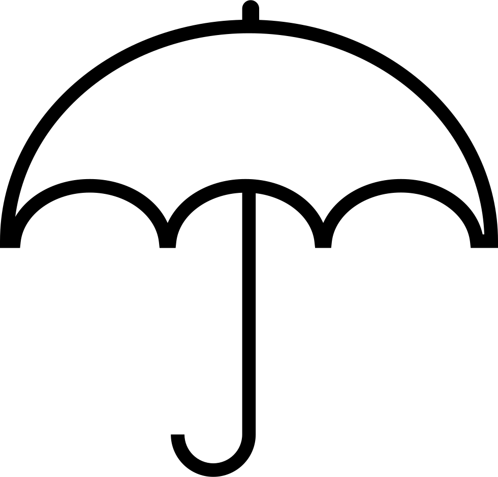 Umbrella Clipart Black And White Umbrella Svg Pn...