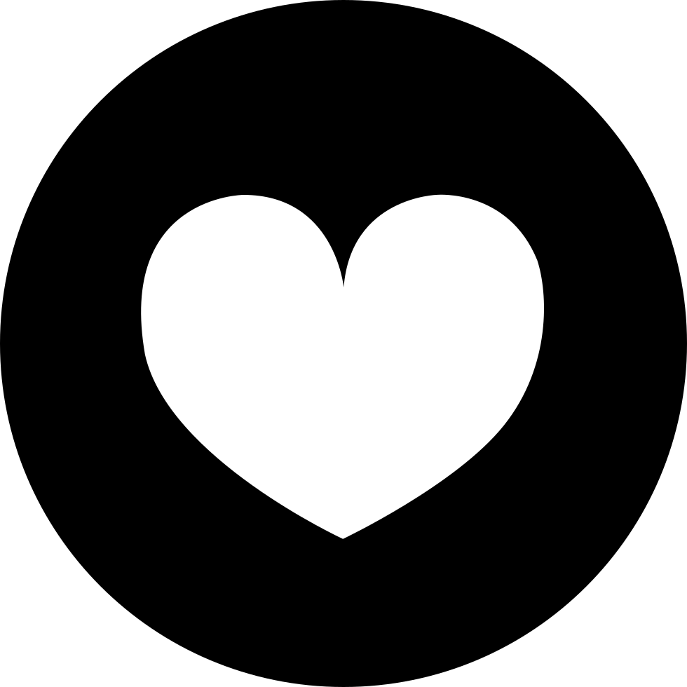 Heart Round Svg Png Icon Free Download (#336756 ...