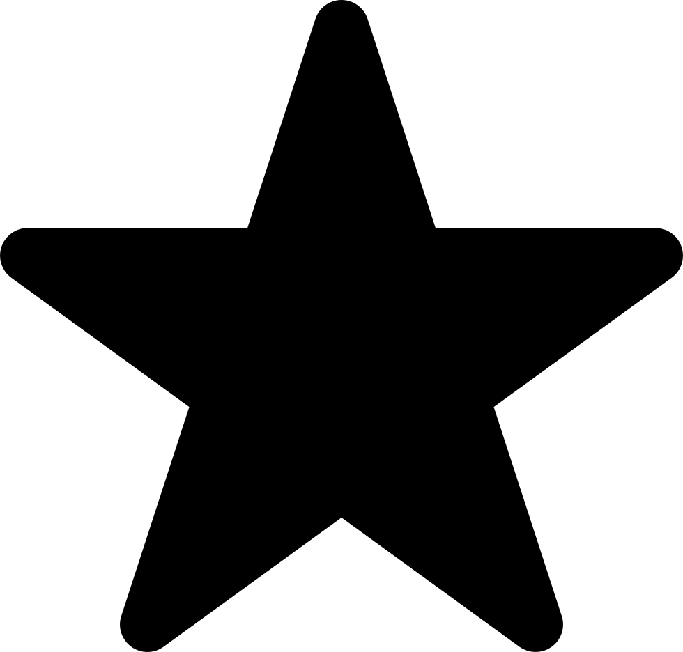 Star Shape Rounded