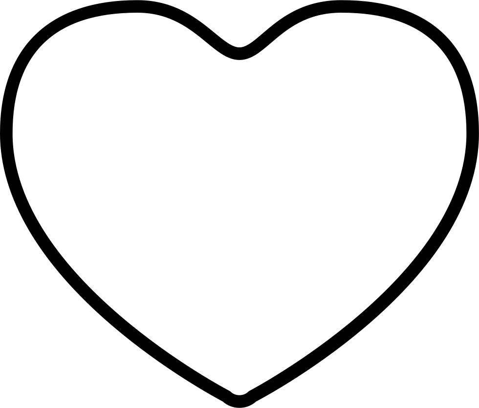 Heart Outline Svg Png Icon Free Download (#340251 ...