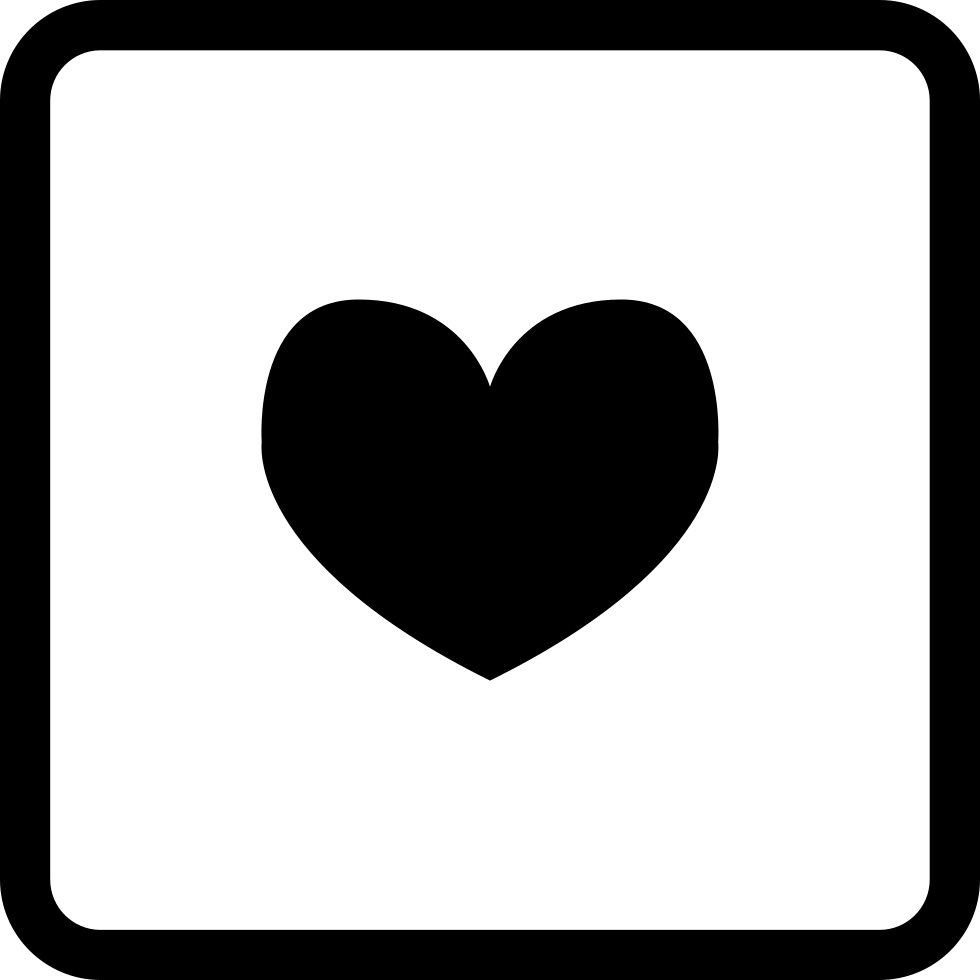 Heart In A Square