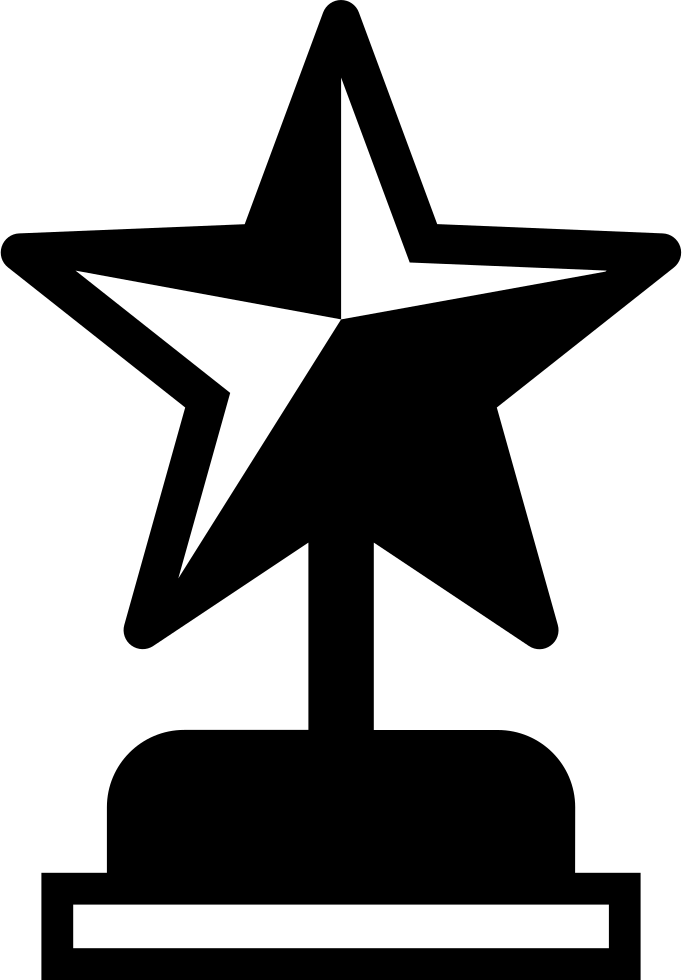 Star Shape Award Symbol