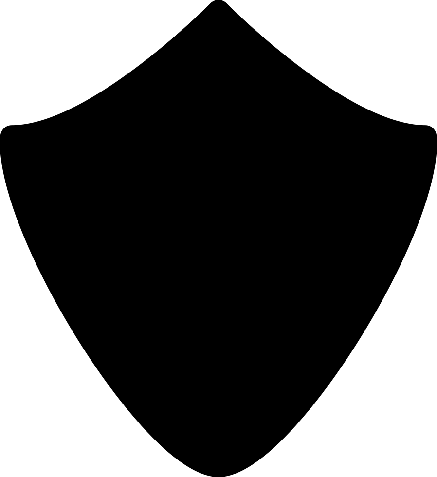 Shield Silhouette Of Rhomboid Shape