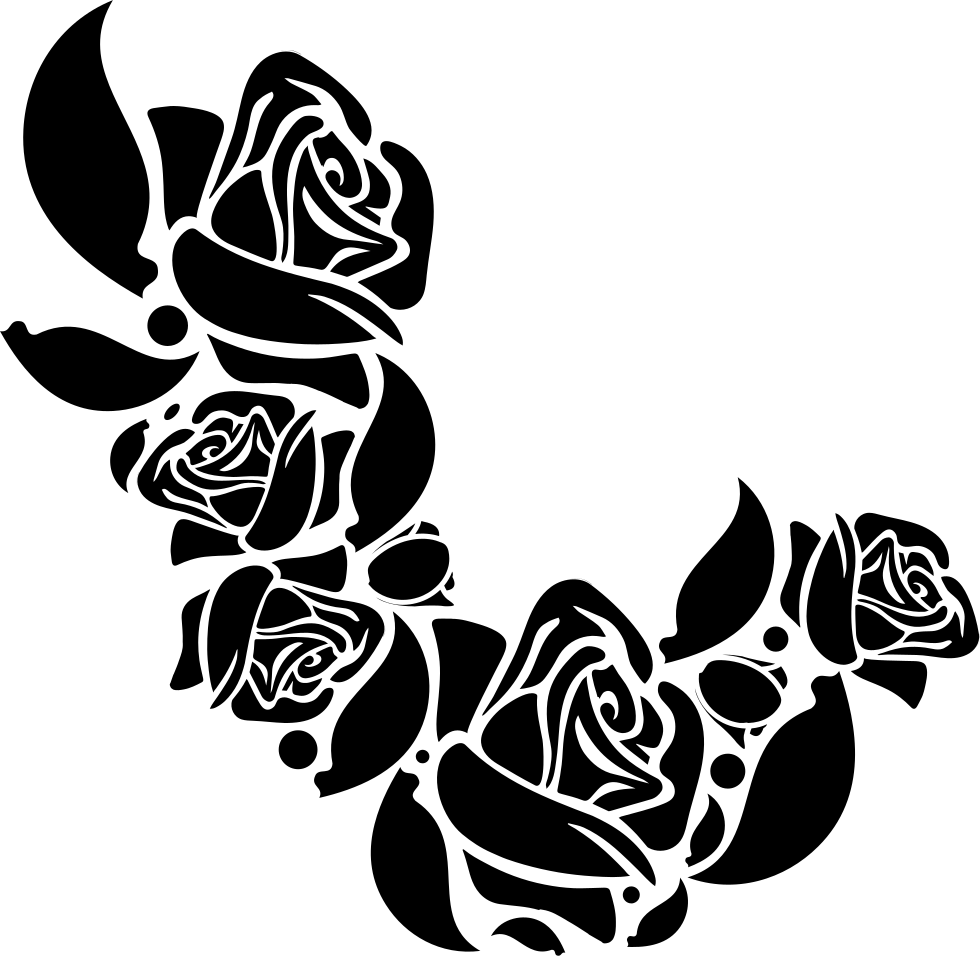 Flower Ornament Of Roses Svg Png Icon Free Download