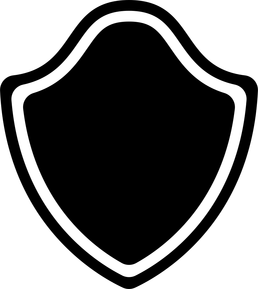 Shield With Outline