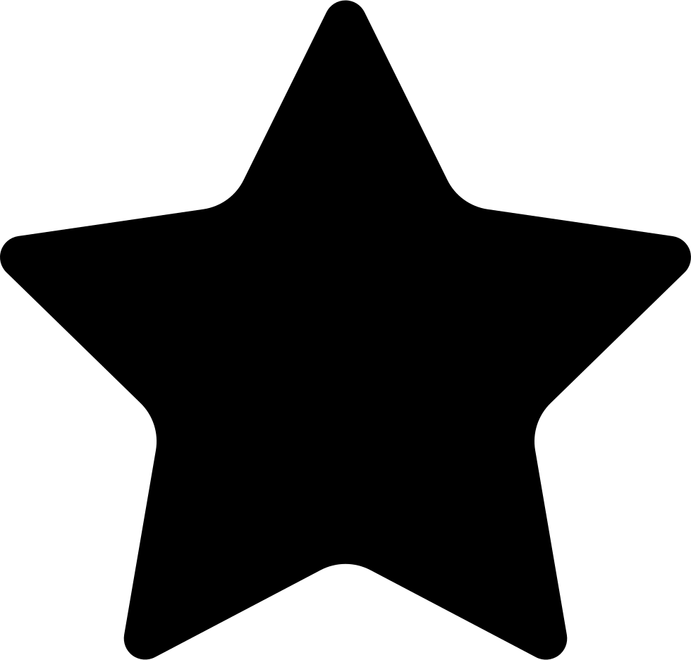 Black Star Silhouette
