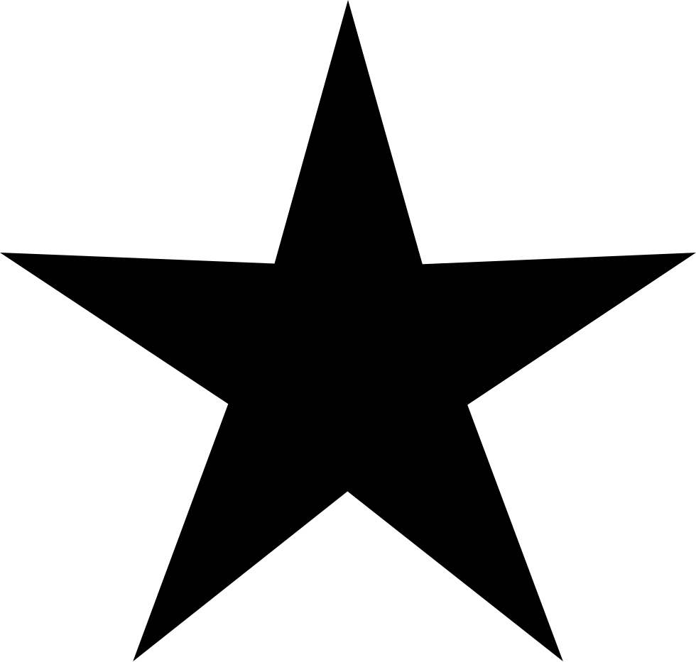 Black Star Of Five Point