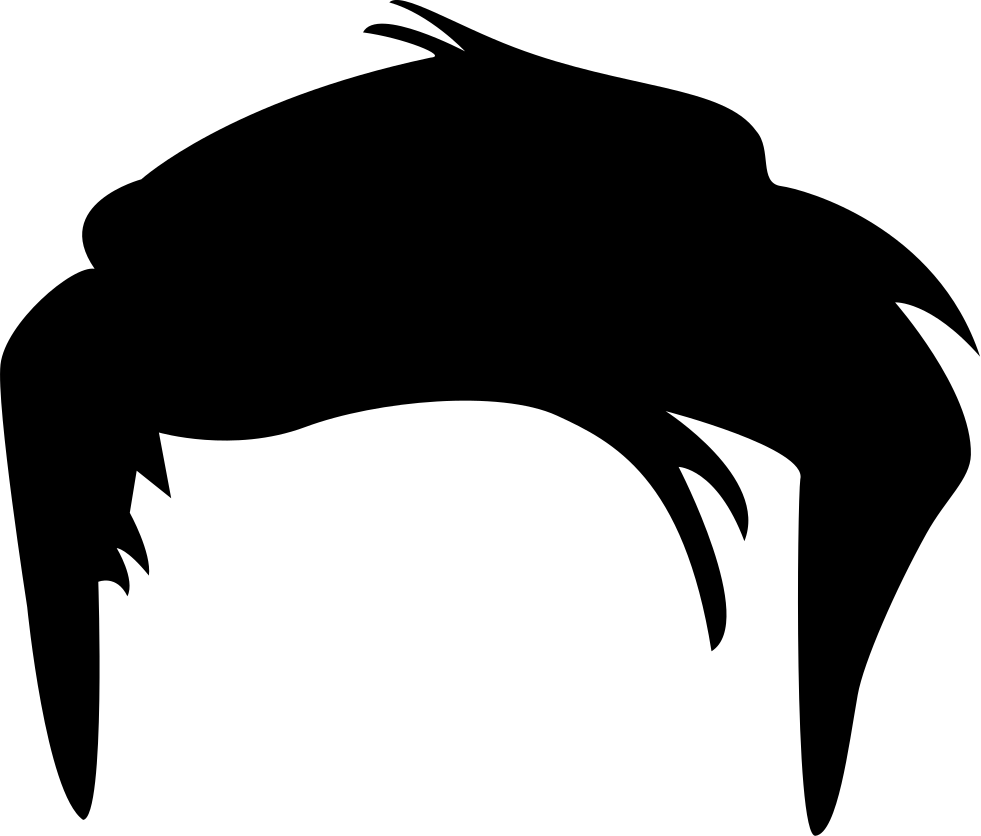 Men Hair Png: Short Male Hair Shape Svg Png Icon Free Download (#35330