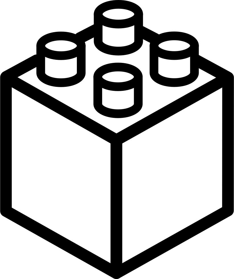Download Lego Cube Or Square Svg Png Icon Free Download (#35523 ...
