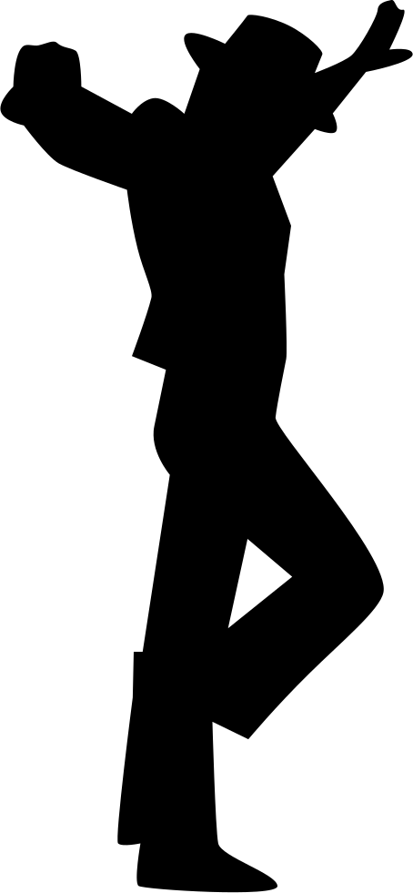Flamenco Male Dancer Silhouette