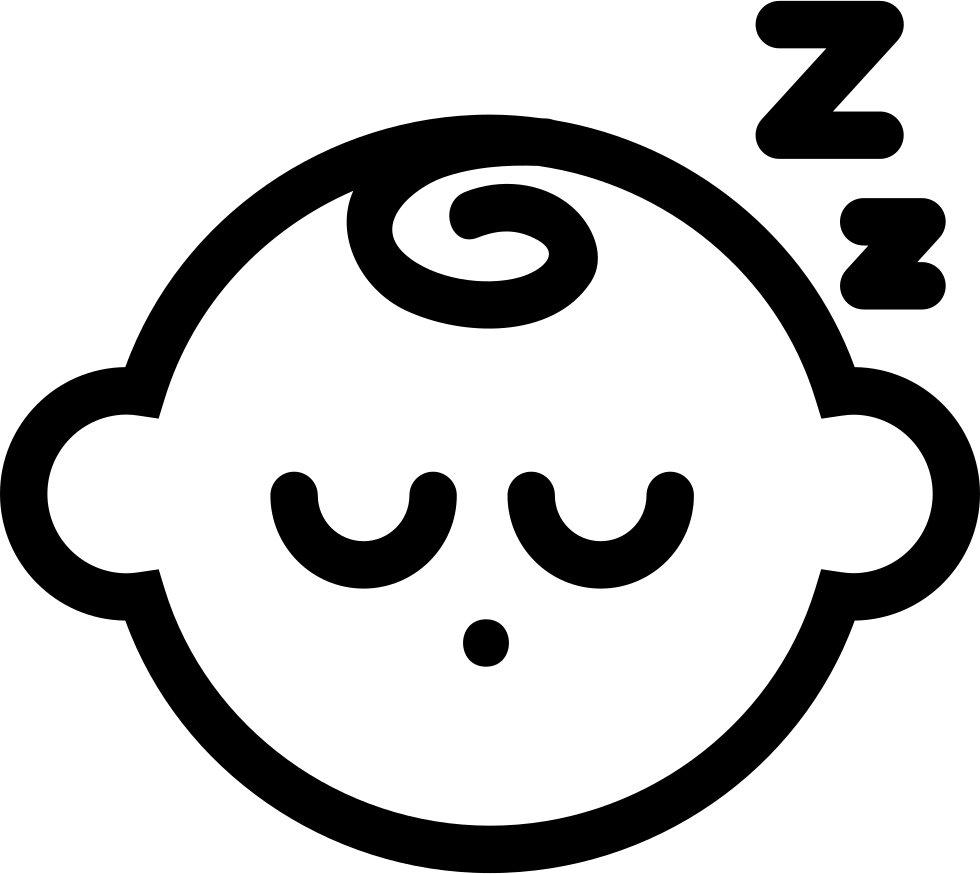 Sleeping Baby Svg Png Icon Free Download (#38149 ...