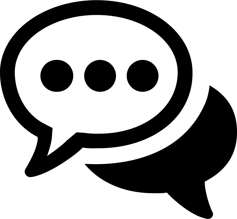 Chat Svg Png Icon Free Download (#397748) - OnlineWebFonts.COM