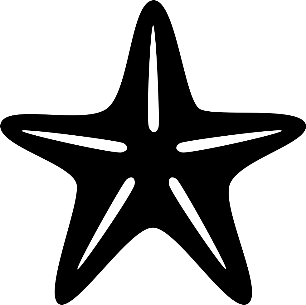 Star Of Sea Fivepointed Shape