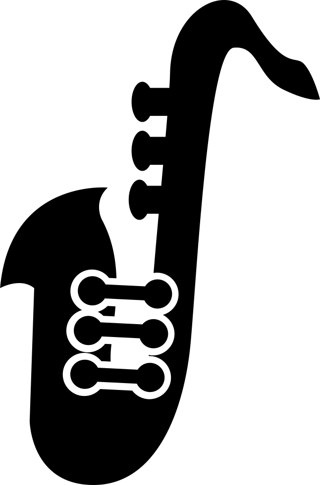 Saxophone Variant Silhouette