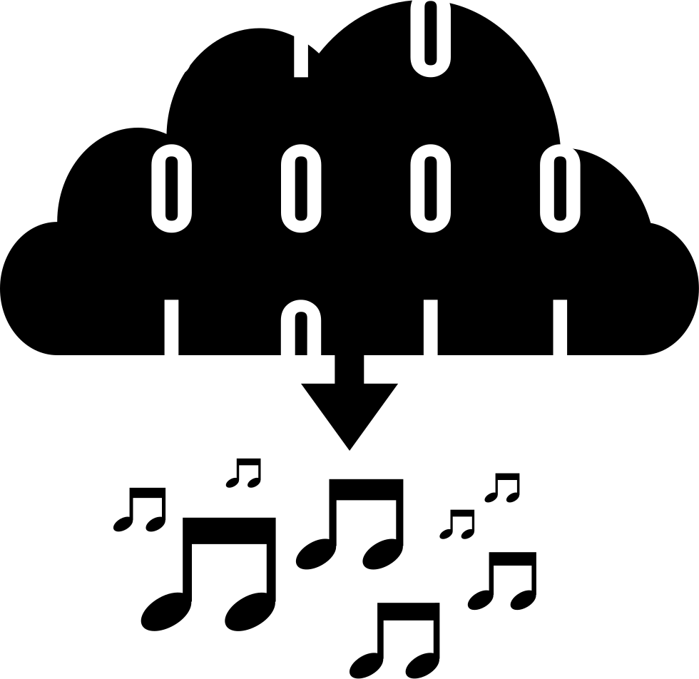 Downloading Musical Data Of The Cloud