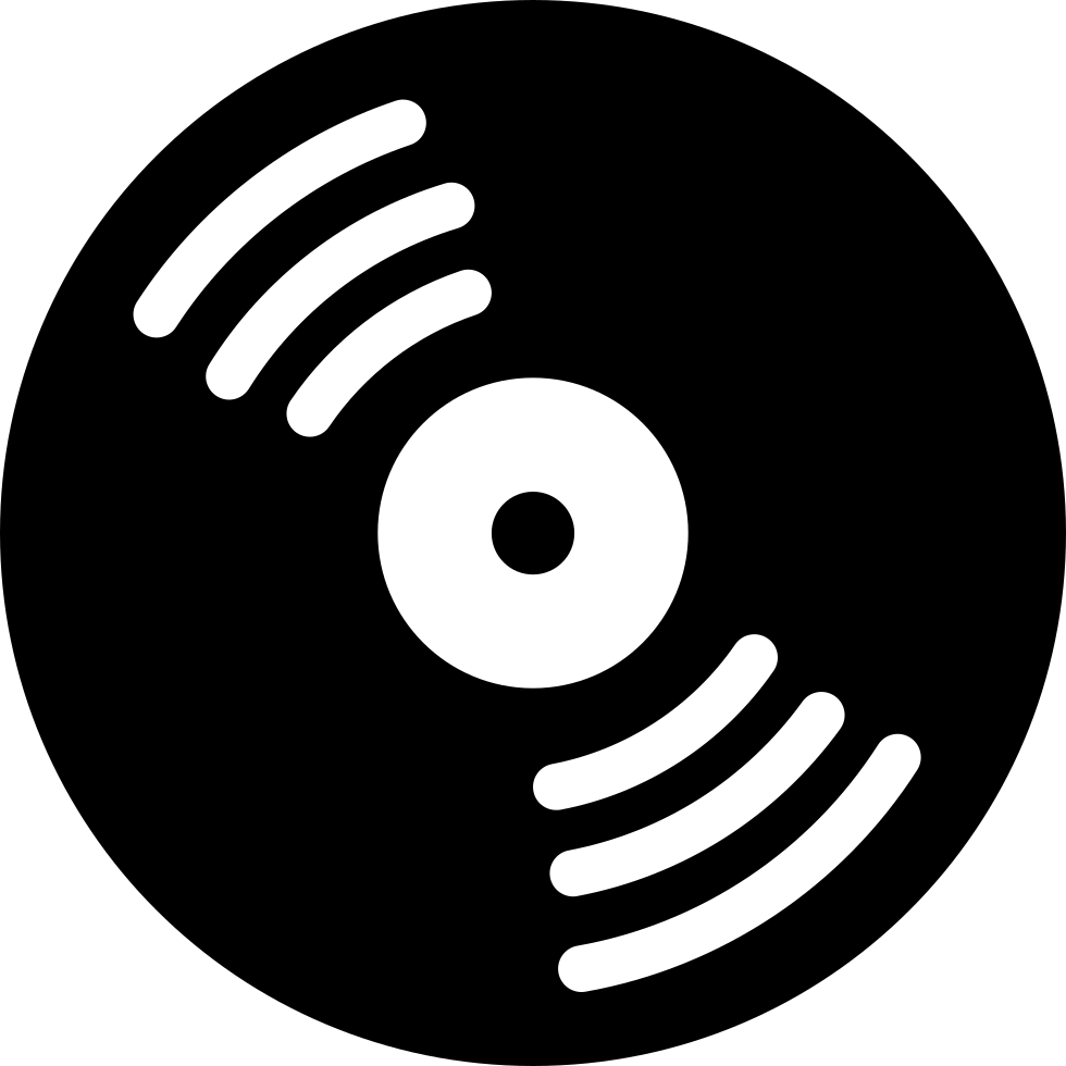 Music Disc With White Details